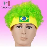 Wholesale 2014 World Cup Brazil Souvenirs Fan Wig With 75 g / pc , 56cm x 21cm from china suppliers
