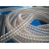 Wholesale Flexible air ventilation duct hose , PU ventilation hose , PU hose with copper coated steel wire from china suppliers