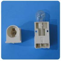 Wholesale OEM ABS Freezer Replacement Parts Lamp Holder Hardware White Yellow L56*W30*T(32-34)mm from china suppliers