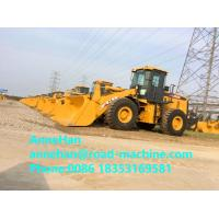 Wholesale XCMG ZL50GN 5 Ton Front End Wheel Loader With Weichai Brand engine and  Rock Bucket for heavy duty project works from china suppliers