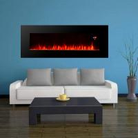 "Wholesale 40"" long linear wall mounted fireplace WF-1340A 2000W real flame comfort smart space heater indoor room decoration from china suppliers"