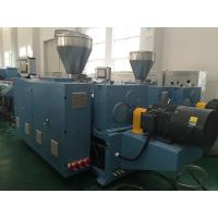 Wholesale PVC Conical Twin Extruder Plastic Processing Machinery For Extrusion Plastic Pellet from china suppliers