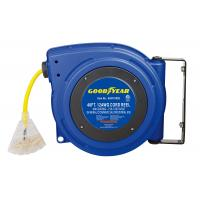 Buy cheap Industrial Retractable 40 Feet Triple Tap Goodyear Hose Reel Heavy Duty from wholesalers