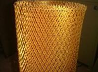 Wholesale Copper galvanized Expanded wire mesh stretch metal mesh with small hole from china suppliers