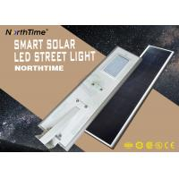 Wholesale 70W 18V Solar Panel And Lithium Battery Aluminium Alloy LED Solar Street Light from china suppliers
