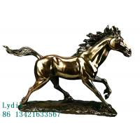 Quality Keep on Fighting Explained by The Running Horse Portrait in Special Resin for sale