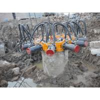 Wholesale TYSIM KP380A Round Hydraulic Pile Breaker Construction Equipment for Concrete Pile Crushing from china suppliers