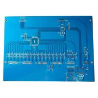 Wholesale 2 Layer FR4 Rigid PCB Digital Audio Circuit Board Tin Lead 63 / 37 HASL Blue Solder Mask Printed from china suppliers