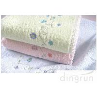 Wholesale Environmental Friendly Small Face Towels , Embroidered Face Towels Multi Function from china suppliers
