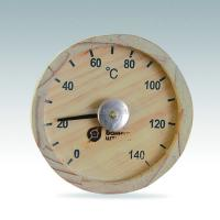 Buy cheap quality crafmanship wooden sauna thermometer and hygrometer from wholesalers