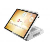 Buy cheap 15 Inch Capacitive Touch Screen Cash Register Pos System HM70 With VFD Customer Display from wholesalers