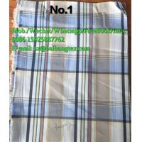 Wholesale Yarn Dyed check design shirts of pants or boxers fabric cotton spandex high quality from china suppliers