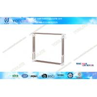 Wholesale Stainless Steel Double Pole Hanger Clothing Rack / Extendable Outdoor Laundry Drying Rack from china suppliers