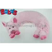 Wholesale Microwave Heated Plush Pig Neck Pillow Filled with Flaxseeds and Larender from china suppliers
