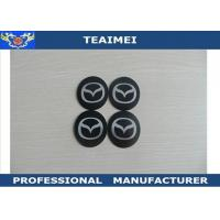 Wholesale Metal 55mm Wheel Center Cap Stickers , JAGUAR / Mazda Car Badge Logos from china suppliers
