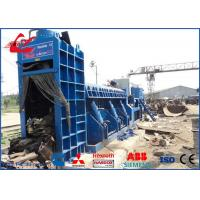 Wholesale 630Ton Shear Baler Hydraulic Baling Shear PLC Automatic Control For Waste Vehicles and bikes from china suppliers