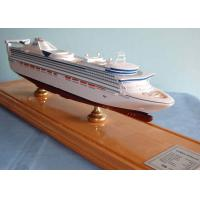 Wholesale Handmade Princess Cruise Ship Models With Offset Printing Hull Logo Printing from china suppliers