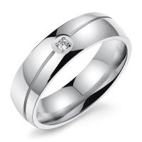 Wholesale High End Engagement Custom Couple Rings Stainless Steel Lightweight from china suppliers