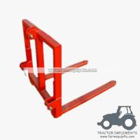 Wholesale Tractor implements 3 point Pallet Mover bale mover from china suppliers