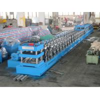 Wholesale Three Wave Guardrail Forming Machine PLC Roll Forming Line With Single Unrolling Machine from china suppliers