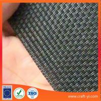 Wholesale Black color textilene wicker fabric 2X2 woven style from china suppliers