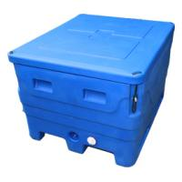 Wholesale Oversized 400L Blue Insulated Fish Container from china suppliers