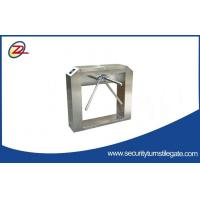 Wholesale Automatic retractable Tripod Turnstile Gate fingerprint and rfid access control from china suppliers