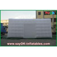 Wholesale Customized Big White Go Outdoors Inflatable Tent Cuve With Door from china suppliers