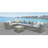 Wholesale Luxury Fashion Patio Rattan Outdoor Sofa L Shaped Couch For Garden / Pool / Hotel from china suppliers