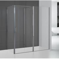 Wholesale Walk In Shower Enclosures 1600 X 900 Pushing Door Corner Shower Glass Enclosure from china suppliers