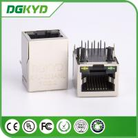 Wholesale 10/100BASE Tab Down Transformer RJ45 Network Connector with Led from china suppliers
