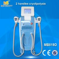 Wholesale 2 handles cryolipolysis machine weight loss /cool sculpting machine/fat freezing machine from china suppliers
