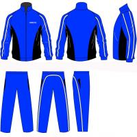 Wholesale Men Outdoor Tracksuits Tracksuits Sportswear Full Jacket Zip Silk Screen Printing from china suppliers