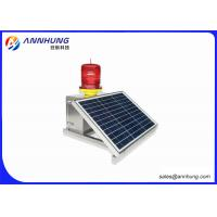 China LED Warning Lights / Solar Obstruction Light Profession Flash Switch on sale