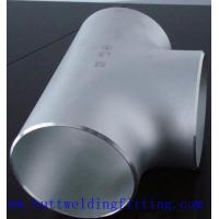 Wholesale ASTM A182  F53 UNS32750 Stainless Steel Equal Tee BW 150NB SCH80S from china suppliers