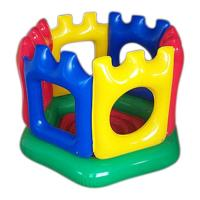 Wholesale Comfortable Kingdom Inflatable Jumping Castle For Kids , Eco-Friendly PVC from china suppliers