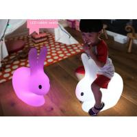 Wholesale Color Changing Outdoor Rabit Kids Led Light Chair Cordless Rechargeable from china suppliers