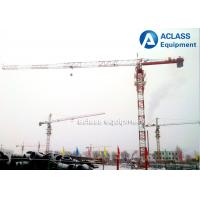 Quality Durable 8T Top Flat Type Topless Tower Crane With 45m Working Height for sale