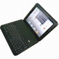 Wholesale Detachable Bluetooth iPad Leather Case with Kickstand  from china suppliers