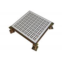 Wholesale Fireproof Data Center Perforated Raised Floor Tiles with Welded Tube from china suppliers