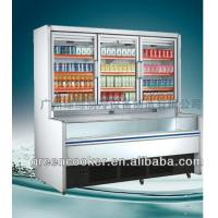 Wholesale Supermarket Display Freezer Combined Freezer Refrigerator Display from china suppliers