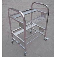 Wholesale Stainless Steel JUKI SMT Feeder Carts Two Layers With Metal Flexible Castor from china suppliers