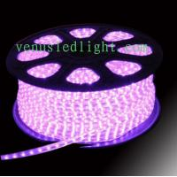 Wholesale Blue color 100m/roll LED 2 wires round rope light pink purple colors  from china suppliers