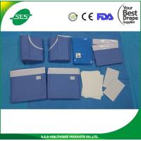 Wholesale Disposable Sterile Surgical Universal Drape Pack with gown from china suppliers