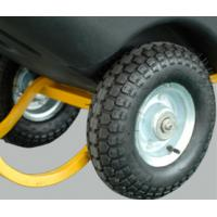 Black 500Litre Rotational Molded Heavy Duty Tilt Trucks
