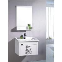 Wholesale Elegant White Color PVC Bathroom Cabinet BL-8135 from china suppliers