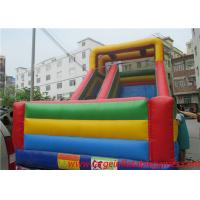 Wholesale Commercial inflatable slide for kids , giant slide inflatable bouncers for sale from china suppliers