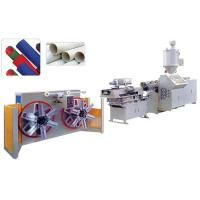 Wholesale Single wall corrugated pipe extrusion line from china suppliers