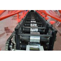 Quality Omega Profile Stud And Track Roll Forming Machine , Channel Truss Furring Cold Forming Machine for sale