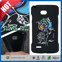 Wholesale Boys Cool Black Flower Hybrid TPU Cell Phone Protective Cases For LG L80 from china suppliers